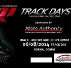 June 8th Track Day Tickets