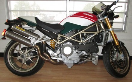 2008 Ducati Monster S4RS Tri Colore
