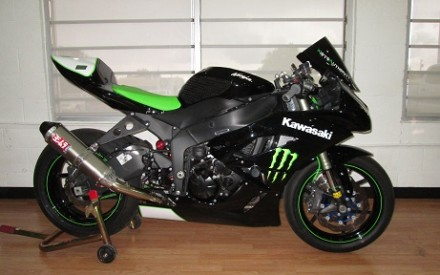 2009 Kawasaki ZX6R Monster Race Bike