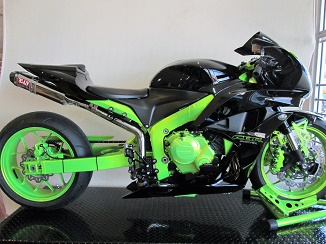 2007 Honda CBR600RR Custom Stretch